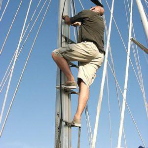 Mast ladder