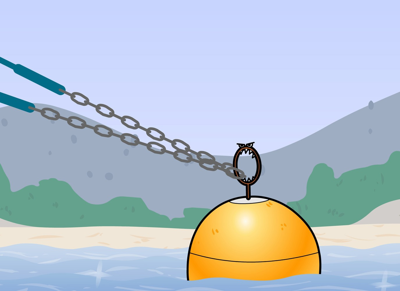 Chain for Mooring Buoys
