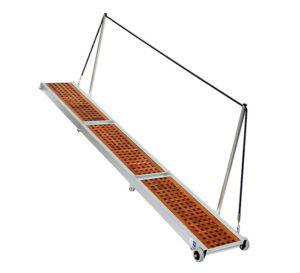 Gangway Modell Classic Teak 2x klappbar 3m