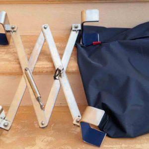 Lukeneinbruchsicherung mit Tasche