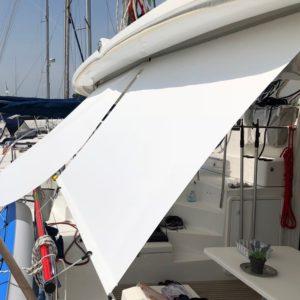 RollTop Sonnensegel an Bord