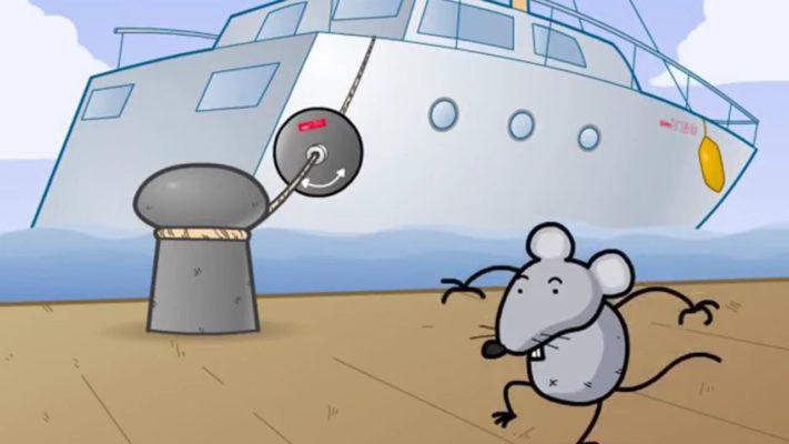 Rattenschutz an Leinen